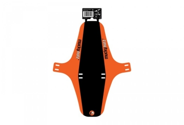 Garde Boue Avant MUCKY NUTZ Face Fender XL Noir / Orange