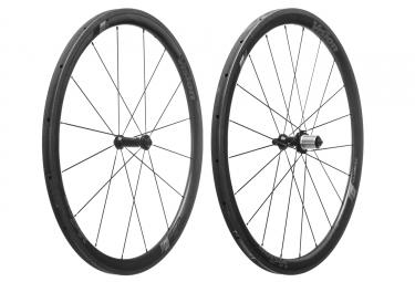 Paire de roues vision trimax carbon 40mm boyau shimano sram 11v