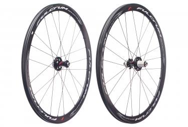 Paire de roues fulcrum racing quattro carbon disc centerlock 12x100mm 12x142mm corps