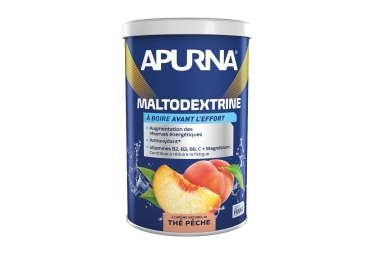Apurna Maltodextrine Peach Tea 500g Energy Drink