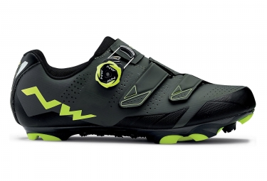 Chaussures vtt northwave scream 2 plus noir gris fluo 40