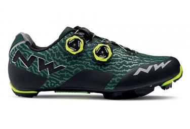 Chaussures vtt northwave rebel vert noir jaune 40
