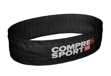 Ceinture Compressport Free Belt Noir Blanc