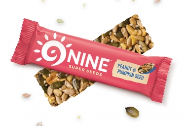 9NINE Peanut & Pumpkin Seed Bars 1x40g