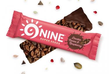 9NINE Cocoa - barras de frambuesa 1 x 40g