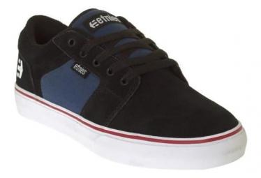 Chaussures etnies barge ls noir bleu marine 43
