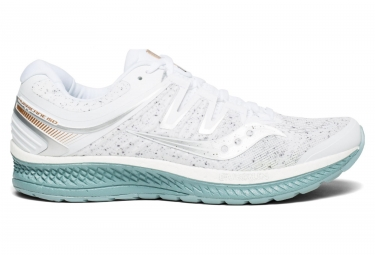 e2f37287 SAUCONY Hurricane Iso 4 Running Shoes White Noise