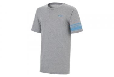 T shirt manches courtes oakley 50 geo gris l