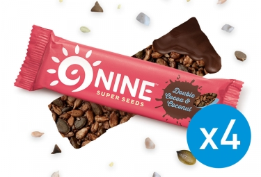 9NINE Cocoa - Barras de coco 4 x 40g