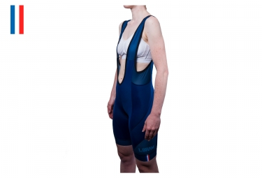 Le Bram Iseran Endurance Women Bib Short - Blue