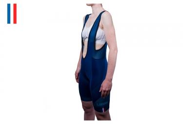Cuissard Court Femme LeBram Iseran Endurance Bleu
