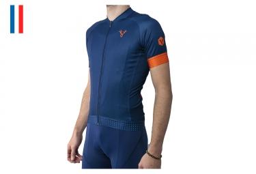 LeBram Eze Short Sleeves Jersey Blue Adjusted Fit