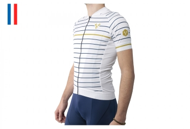 LeBram Ventoux Short Sleeve Jersey White Adjusted Fit