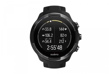 Suunto GPS Watch NINE 9 G1 BARO Black