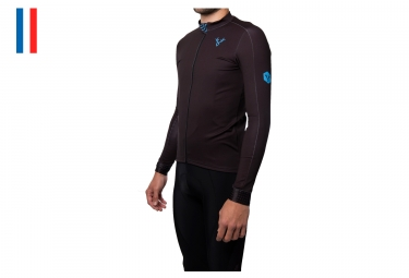 LeBram Montgenèvre Long Sleeves Jersey Dark Blue