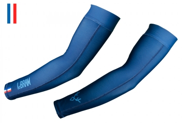 LeBram Thermo Arm Warmers Blue