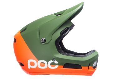 Casque POC Coron Air SPIN Septane Vert Zink Orange