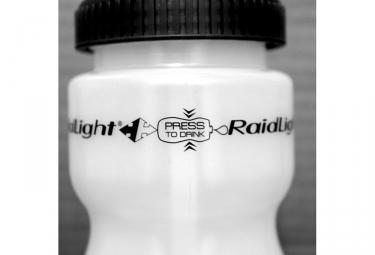 Flask Raidlight Press-to-Drink 600mL Blanc