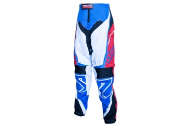 Image of Pantalon short trick x spike kids bleu rouge m