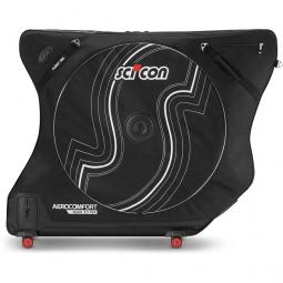 sci con aero confort road 3 tsa bolsa de viaje en bicicleta black