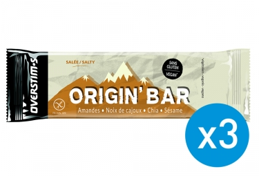 Barre Energetiche 2+1 Overstims Origin' Bar Salate