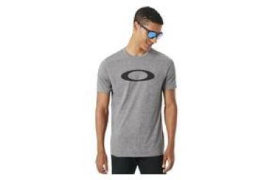 T shirt manches courtes oakley o mesh ellipse gris l