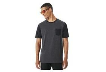 T shirt manches courtes oakley 50 solid pkt gris fonce l