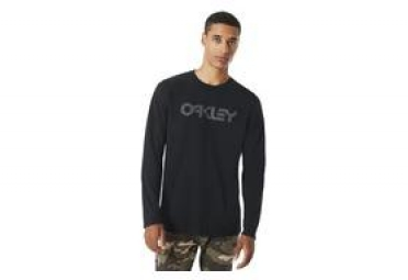Camiseta Oakley de manga larga O-Mark II negra
