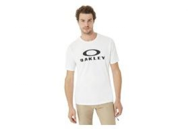 T shirt manches courtes oakley 50 bark ellipse blanc m