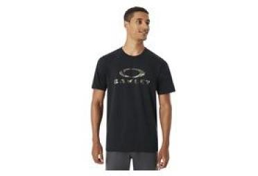 T shirt manches courtes oakley 50 stealth ii noir s