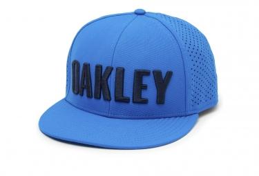 Casquette oakley perf hat ozone bleu