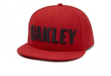 Casquette oakley perf hat rouge