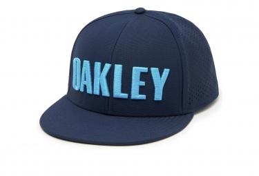 Casquette oakley perf hat bleu