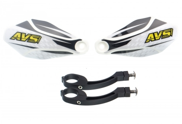 AVS KIT DECO Hand Guard Black White