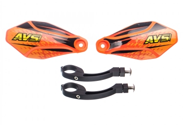 AVS KIT DECO Hand Guard Orange Black