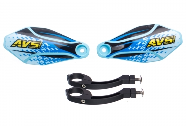 AVS KIT DECO Hand Guard Blue Light