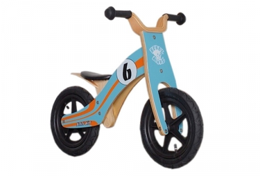 Draisienne Rebel Kidz Basic Le Mans 12'' Bleu / Orange 2 - 4 ans