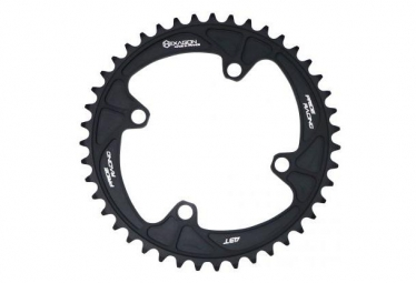 Couronne pride racing hexagon noir 40