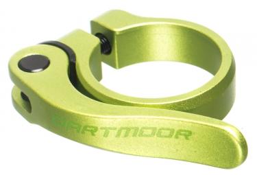 Collier de selle a serrage rapide dartmoor loop 34 9 mm vert