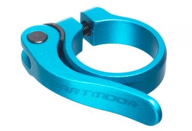 Collier de selle a serrage rapide dartmoor loop 34 9 mm turquoise