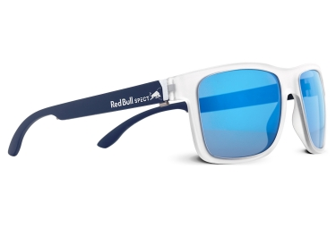 Spect Wing Glasses Blue White - Blue Polarized
