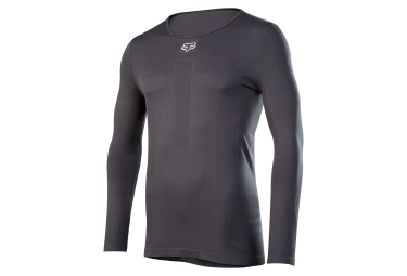 Fox Attack Fire Long Sleeves BaseLayer Black