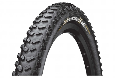 Pneu vtt continental mountain king protection 27 5 plus tubeless ready souple blackc