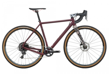 Gravel bike rondo ruut al sram apex 11v 2018 bordeaux m 170 180 cm