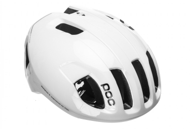 Casque poc ventral spin raceday hydrogen blanc l 56 62 cm