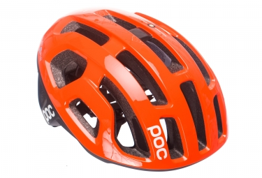 Casque poc octal x spin zink orange 50 56 cm