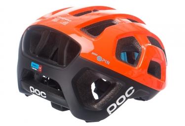 Casco Poc Octal X Spin Noir / Orange