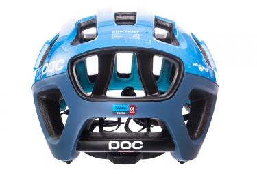 POC Octal X SPIN Furfural Blue