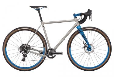 Gravel bike rondo ruut st sram rival 11v 2018 gris bleu l 175 190 cm