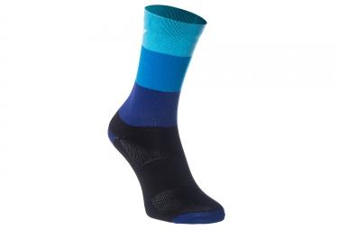Paire de chaussettes massi noir bleu m